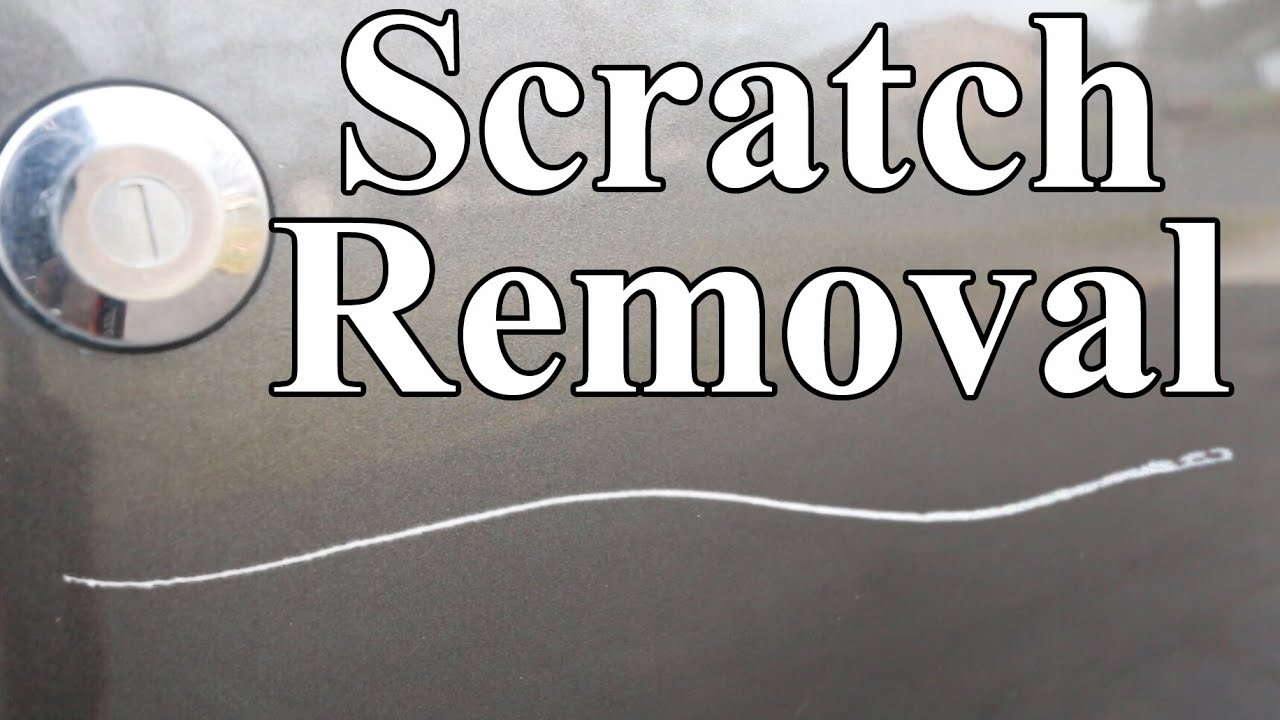 How to remove scratches from car permanently easy youtube solutioingenieria Images