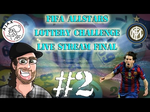 Fifa All Stars Lottery Challenge - Champions League Final LIVE STREAM