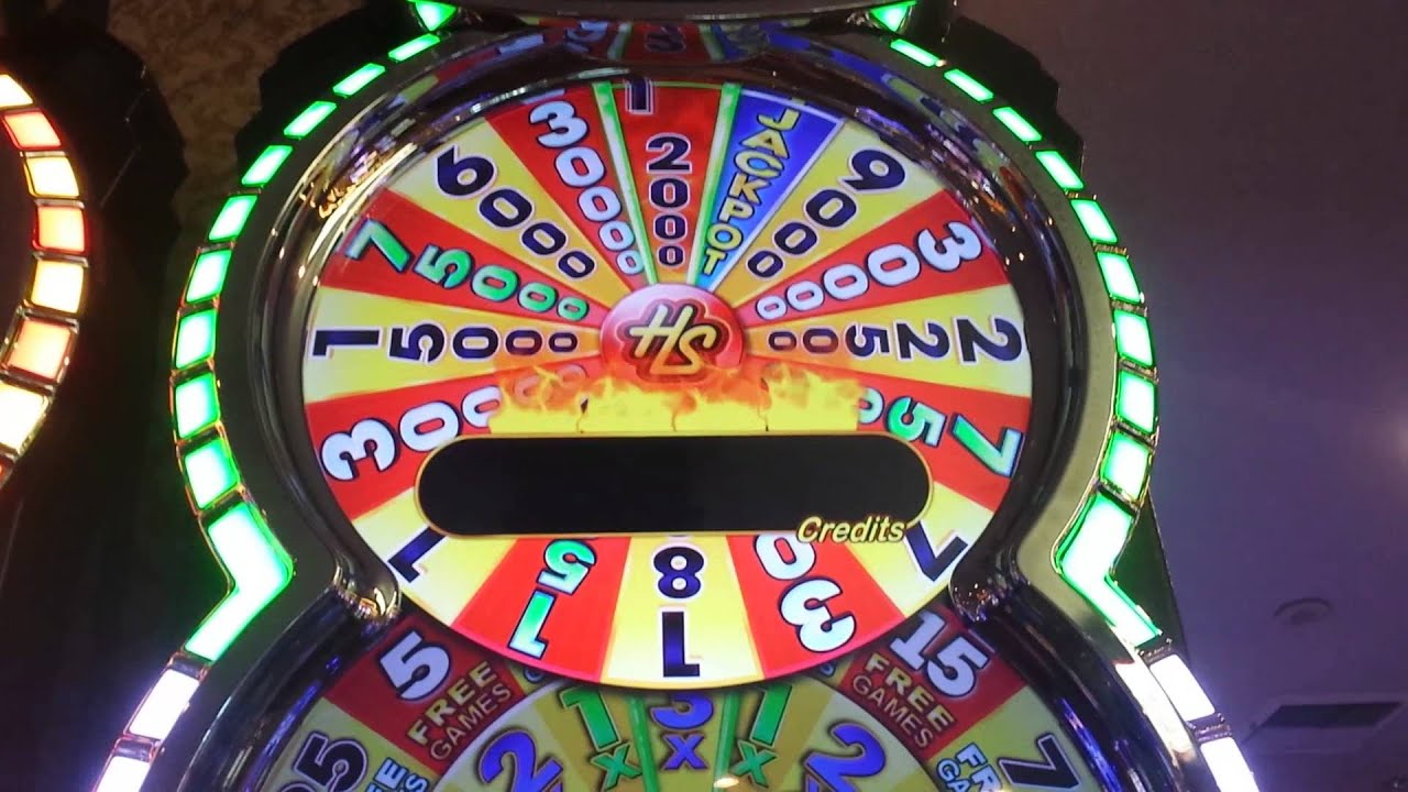 Hot Shot Progressive Slot Machine