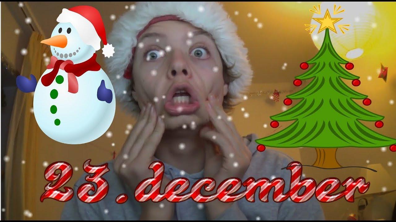 23.december  | Julekalender 2017 | Julepynt På Juletræ!!!!!