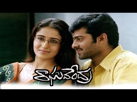 Raghavendra Movie || Beautiful Love Scene   Between Prabhas & Anshu