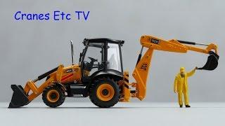 Motorart JCB 3CX Contractor by Cranes Etc TV