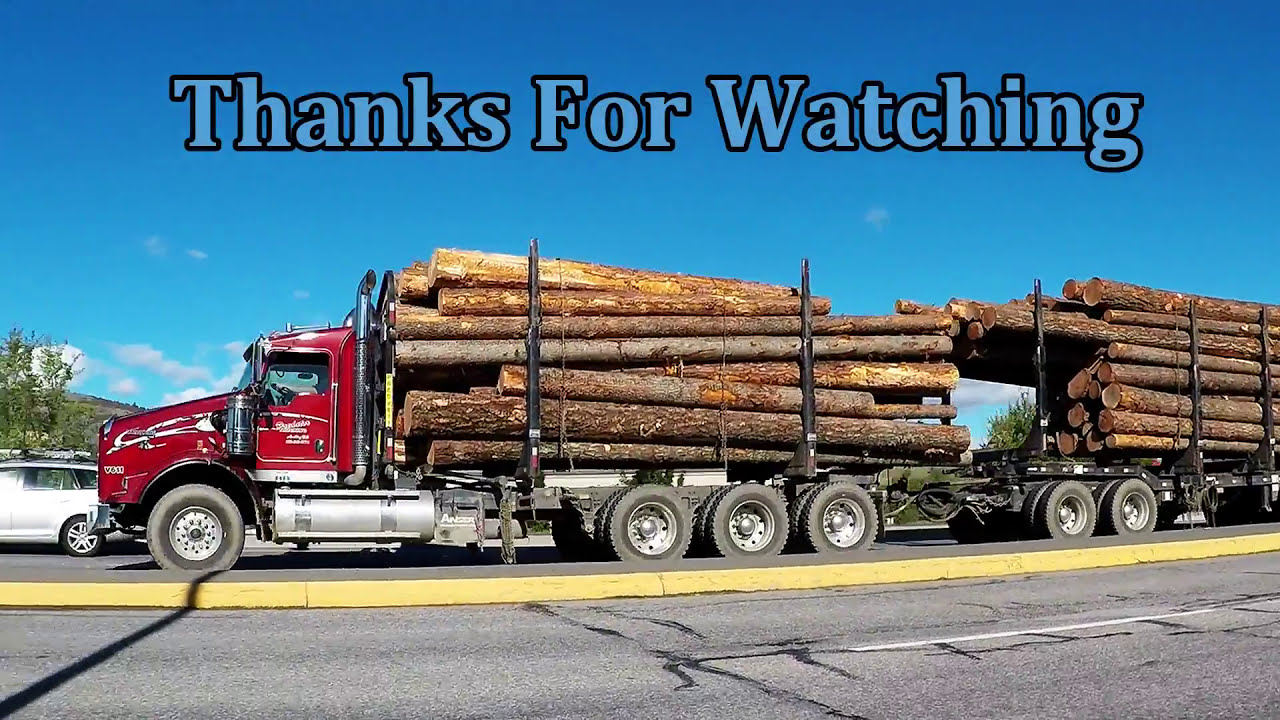 b c logging trucks 14 kenworth western star logging trucks [ 1280 x 720 Pixel ]