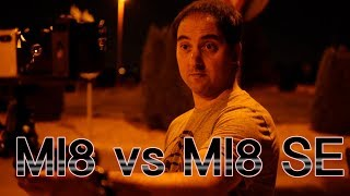 Xiaomi Mi 8 vs Xiaomi Mi 8 SE GRABANDO 4K POR LA NOCHE
