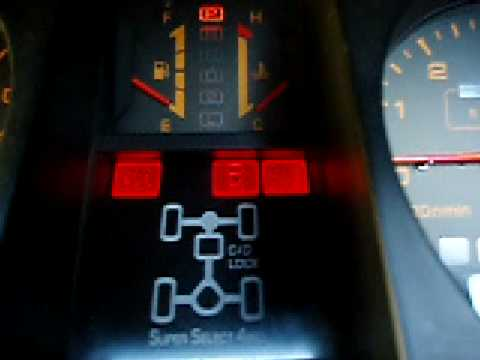 Mitsubishi Pajero gearbox self test  YouTube