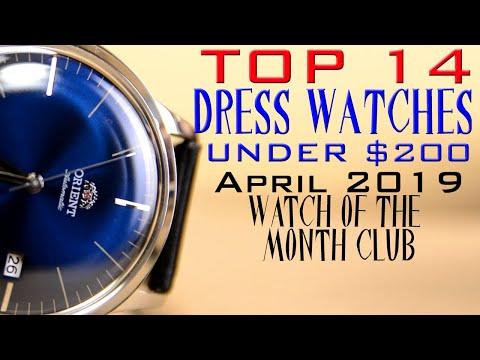 14 Best Budget Dress Watches: $40 - $200 Cadisen, Seiko, Citizen, Bulova And More!