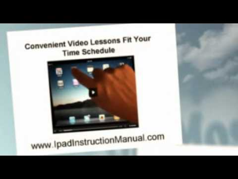 Ipad Instruction Manual Youtube