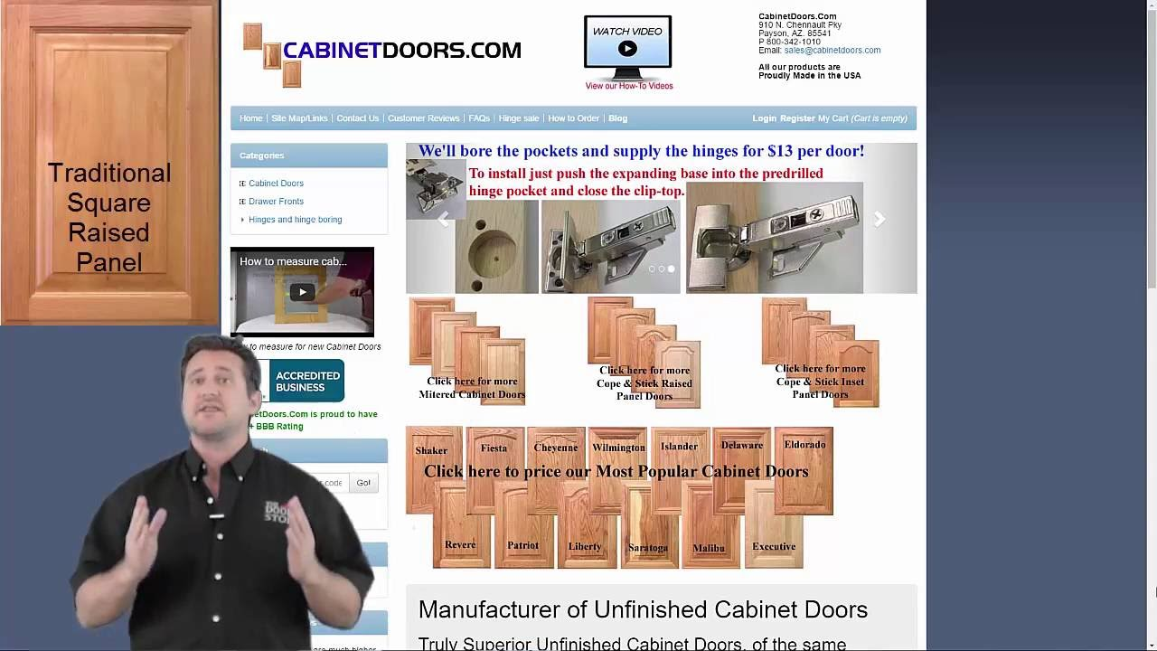 Cabinet Doors Online How To Buy Cabinet Doors Wholesale Youtube