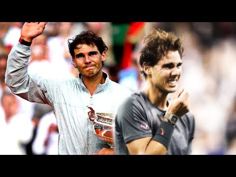 Rafael Nadal - Most emotional crying moments