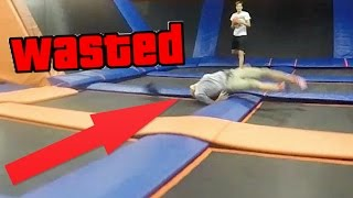ALONE IN SKY ZONE GONE WRONG!