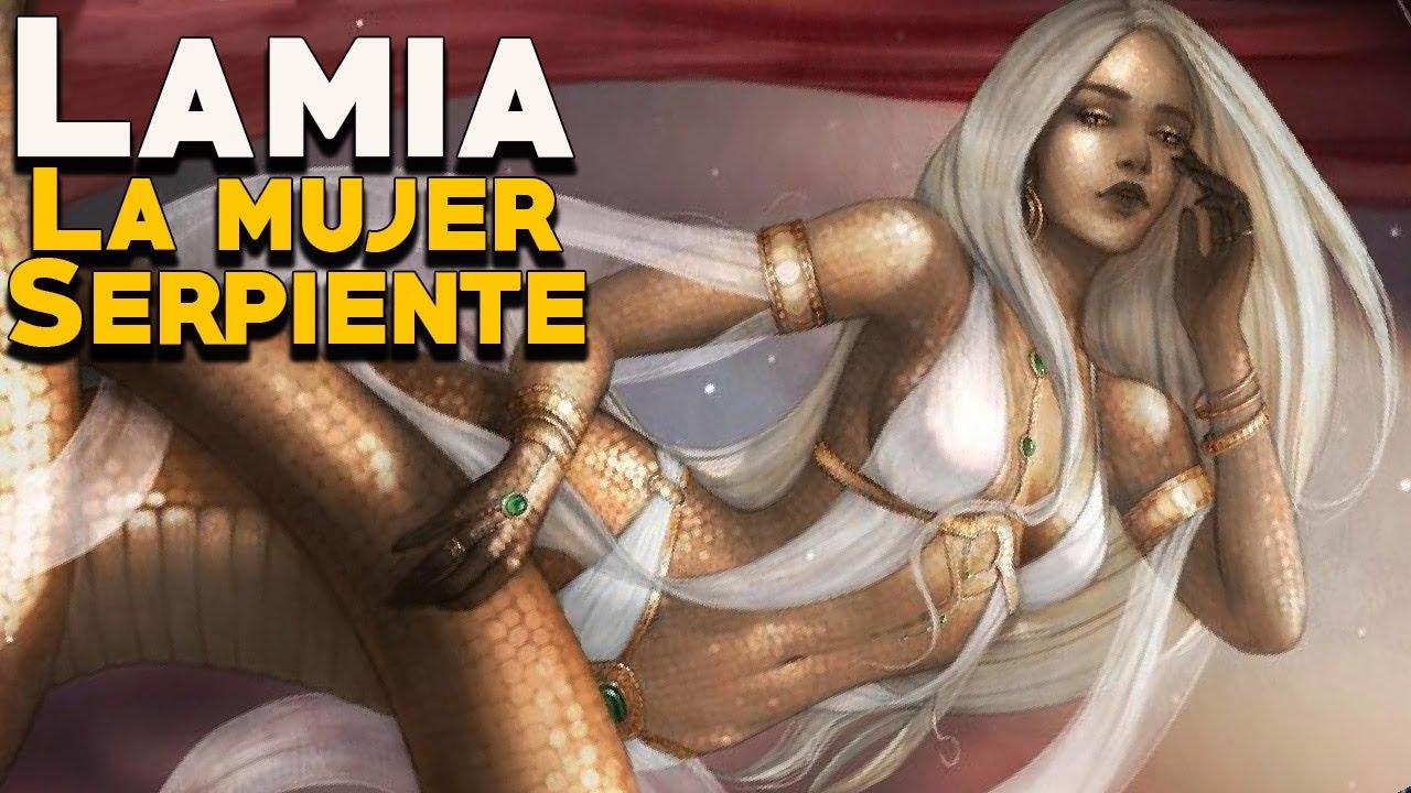 Lamia: La Mujer Serpiente Maldita por los Dioses - Mitología Griega - Mira  la Historia - YouTube