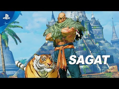 Street Fighter V: Arcade Edition – Sagat Gameplay Trailer   PS4