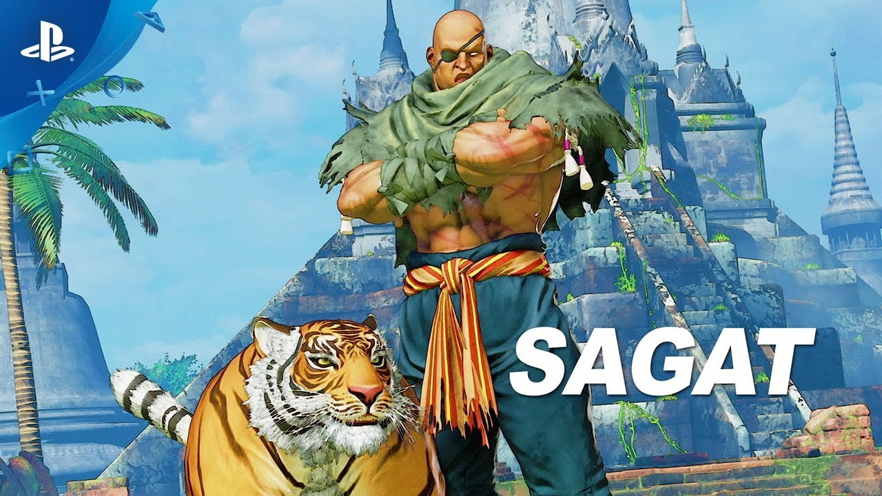 Street Fighter V: Arcade Edition – Sagat Gameplay Trailer | PS4 - YouTube