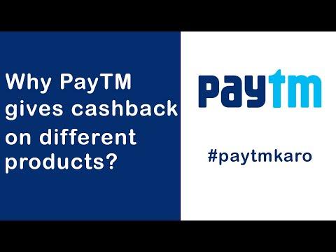 Why PayTM gives cashback on different products like Kitkat, nescafe? - Logic explained
