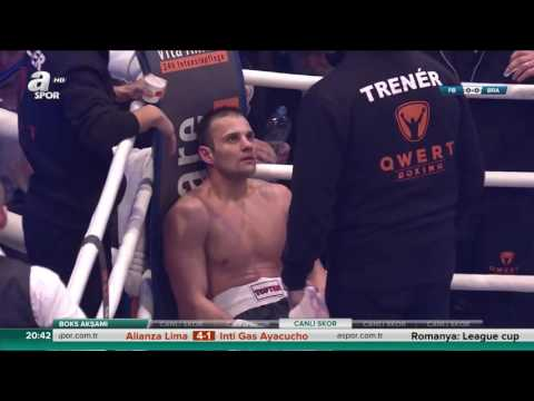 Štěpán Horváth vs. Davide Doria - WBO European light middleweight