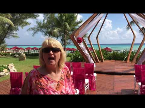 Azul Fives HotelBeach Gazebo Destination Wedding by TravelSmiths, Nov 2016