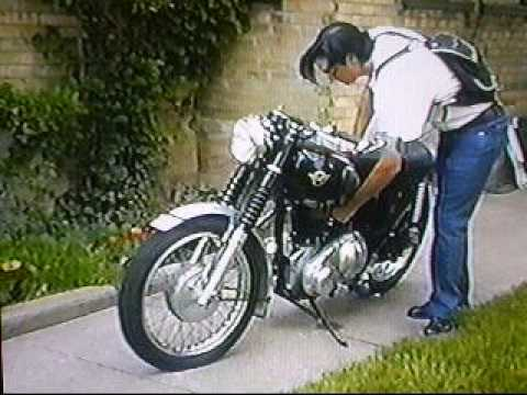 Matchless Motorcycle 1959  Helen Wheels