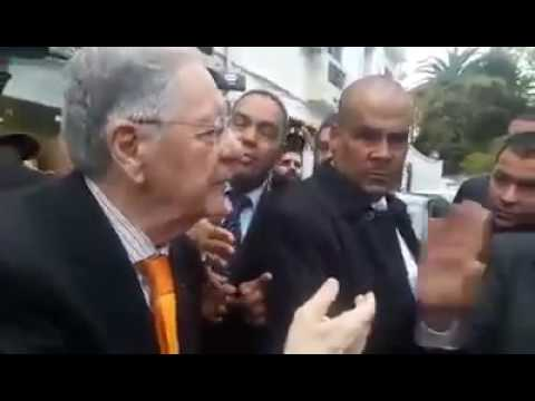 Djamel Ould Abbas à un citoyen : «Belaa foumek»
