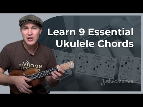 Ukulele Lesson 3 - Uke Open Chords: A Am A7 D Dm D7 E Em E7 - Ukulele Tutorial - [UK-003]