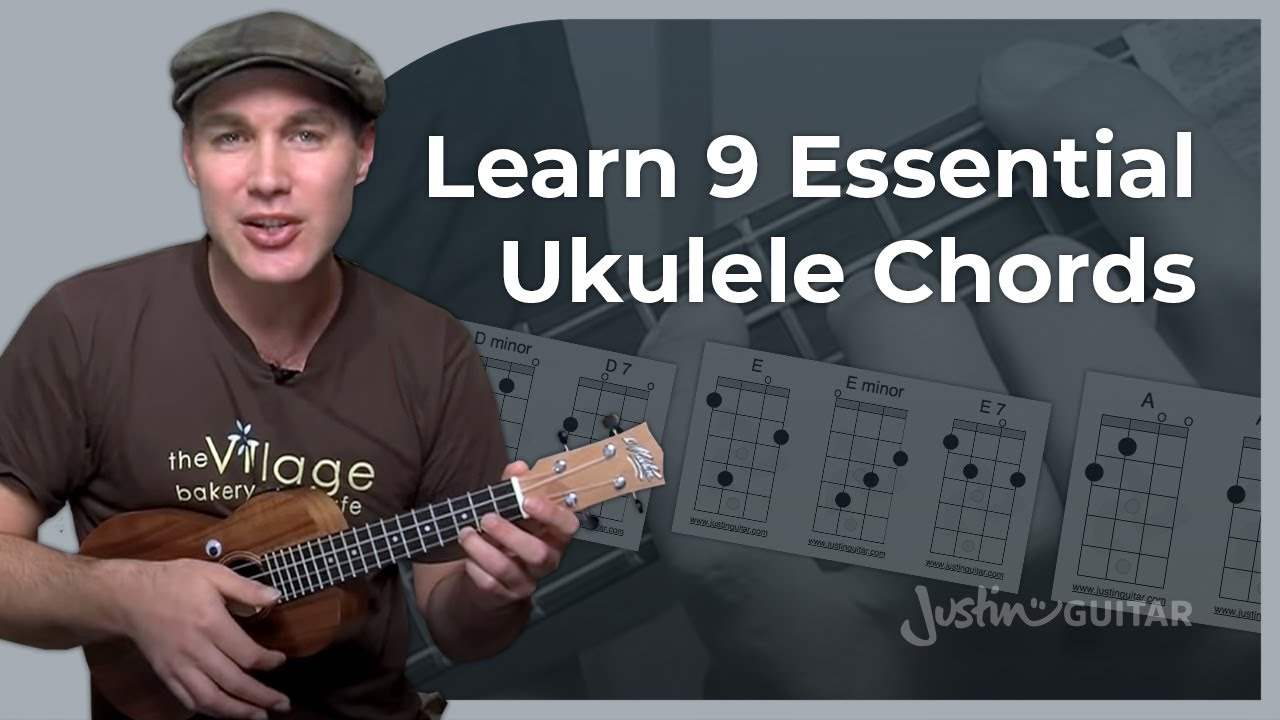Ukulele Open Chords Part 1 Justinguitar