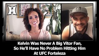UFC's Kelvin Gastelum Says He Was Never A Belfort Fan; Talks Fortaleza Main Event + Weight Cuts