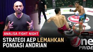 Max Metino: Low Kick Aep Saepudin Melemahkan Striking Andrian Kusubianto | Analisa FN 45