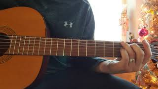 Sarah by Alex G - Guitar Lesson (correct this time)