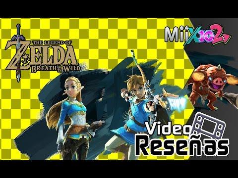 -Video Reseña- The Legend Of Zelda: Breath Of The Wild (No Spoilers)