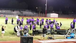 "NP's marching band ""Social Network"" halftime show 10/31/2014"