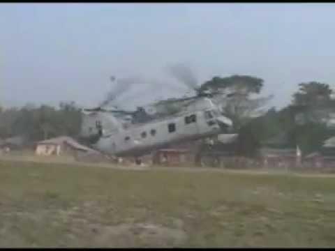 Marine Relief Effort In Bangladesh