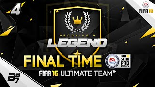 FIFA 16 | BECOMING A LEGEND! THE FINAL! #4