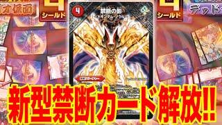 【デュエマ】新禁断VSカラフルベル!この闘い、デッキレベルマックス!【デュエルマスターズ対戦動画】