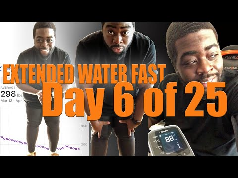 positive-vibes---25-day-water-fast- -day-6- the-gauntlet-series