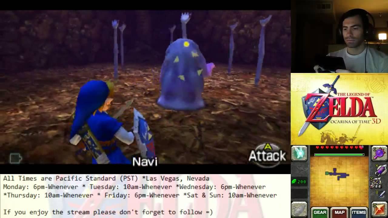 The Legend Of Zelda: Ocarina of Time 3DS - Boss Battle #6 5 Dead Hand