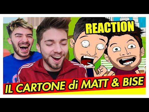 REAZIONE AL NOSTRO CARTONE ANIMATO | Matt & Bise