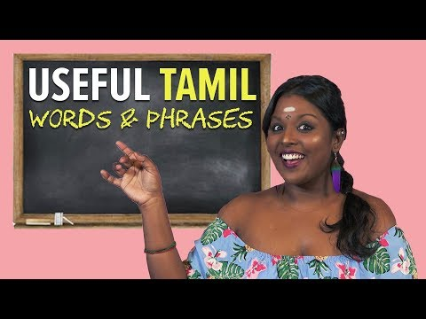 Basic Tamil Words & Phrases You Should Know By Now | NANDINI