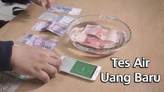 vuclip Uang Baru 2017 vs Uang Lama - Tes Air (Waterproof Test?)