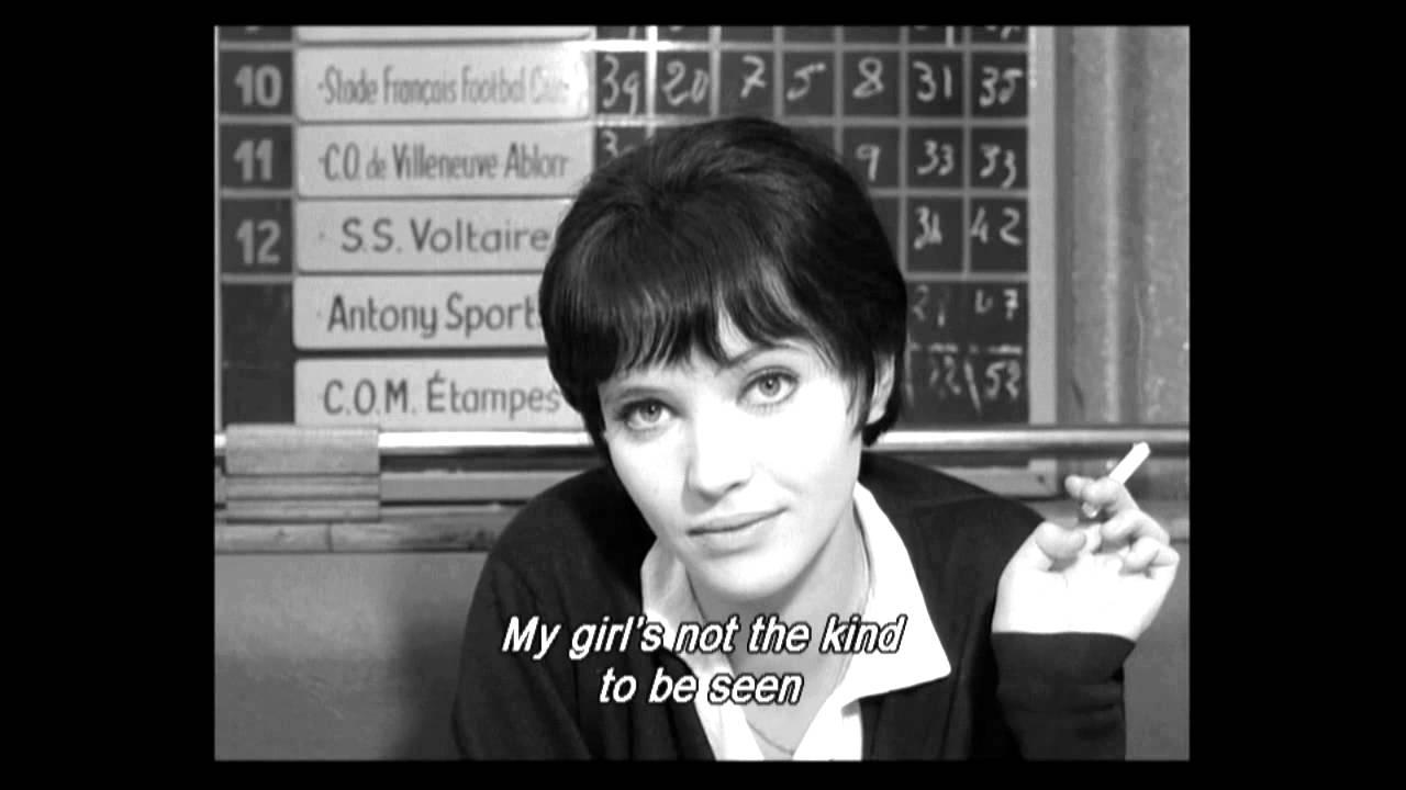 Vivre Sa Vie 1962 Cafe Scene 720p Hd Subtitles Youtube