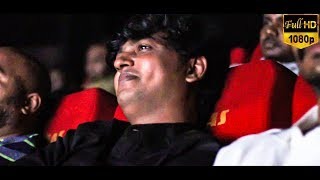 FULL VIDEO: Vijay Kumar watches Uriyadi 2 FDFS with Fans at GK Cinemas!! | Suriya | 2D Entertainment