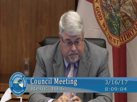 Scientology Lobbies Clearwater City Council