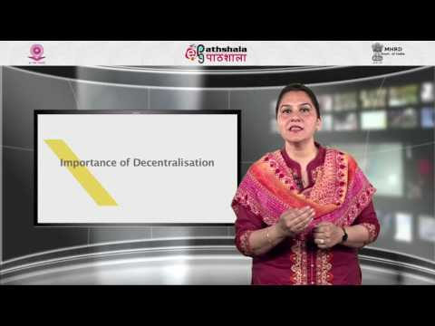 Federalism and Decentralization in educational administration and management