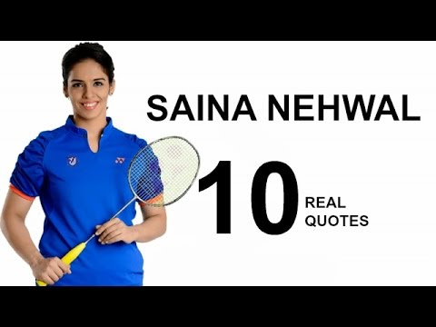 Saina Nehwal 10 Real Life Quotes on Success | Inspiring | Motivational Quotes