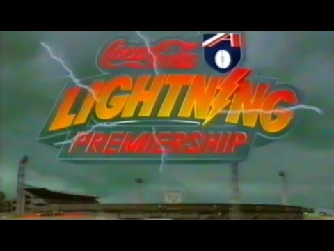 1996 AFL Lightning Premiership - Richmond vs West Coast