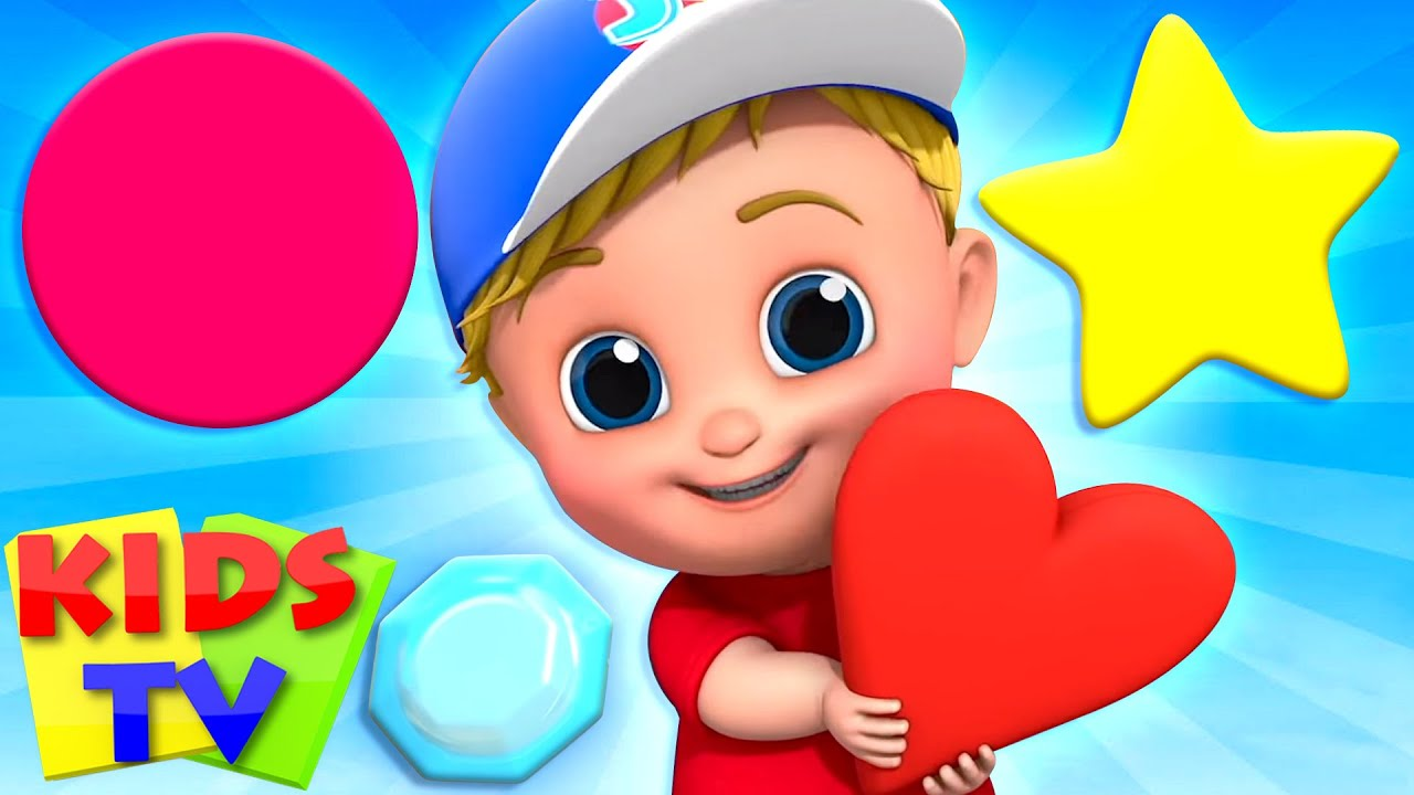 Shapes Song | Kindergarten Learning Videos + More Baby Songs & Nursery Rhymes by Kids Tv