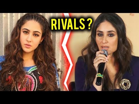 Sara Ali Khan Vs Kareena Kapoor Khan | Sara & Kareena COMPETE Each Other