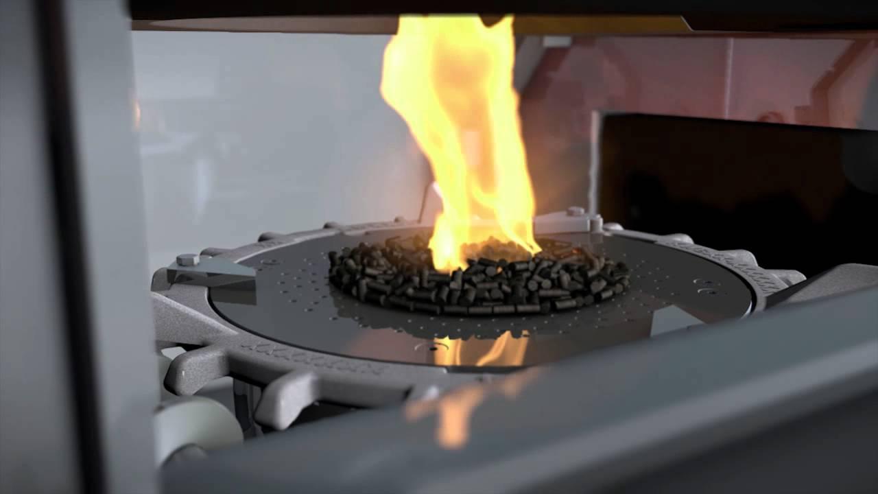 So funktioniert die Pelletheizung KWB Easyfire mit