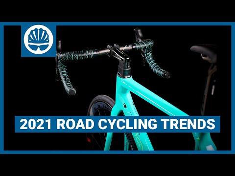 Top 5   2021 Road Bike Trends