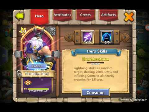 Castle Clash Evolved For Hb Or Books