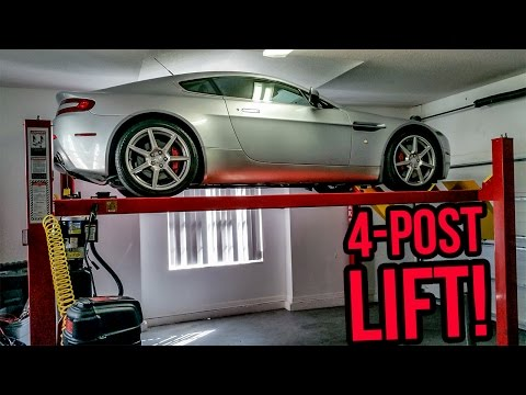 I Installed A Four Post Lift In My Garage!