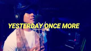 Yesterday Once More(Carpenters)| Ed Morales cover